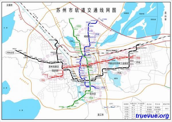 苏州地铁规划