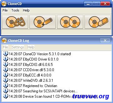 CloneCD软件截图