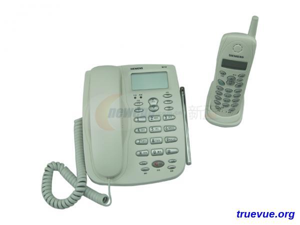 西门子W10无绳电话机图片