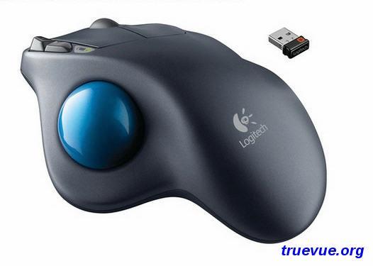 预防鼠标手罗技M570 无线轨迹球鼠标